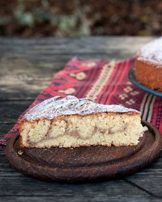 If you're looking for a simple cake to serve guests, try this medlar cream cake. What's a medlar? The fruit of the medlar tree, Mespilus germanica, tastes like Gourmet Recipes, New Recipes, Cake Recipes, Vegetarian Recipes, Dessert Recipes, Desserts, Baking Bread At Home, Ecology Center, Pear Butter