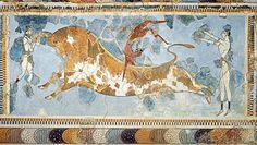 Toreador Fresco, ca. 1500 (Minoan)
