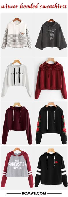 Find the best styles and deals at ROMWE right now! Teen Fashion Outfits, Outfits For Teens, Trendy Outfits, Winter Outfits, Girl Fashion, Summer Outfits, Moda Chic, Ellesse, Stylish Clothes
