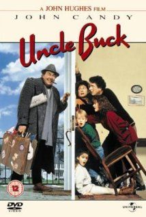Uncle Buck is a John Hughes comedy film starring John Candy and Amy Madigan. John Candy stars in this John Hughes comedy as an idle, good-natured bachelor who's left in charge of his nephew and nieces during a family crisis. A John Candy classic. See Movie, Movie List, Epic Movie, Film Music Books, Music Tv, 80s Movies, Good Movies, Comedy Movies, 80s Movie Posters
