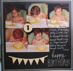 Amy Chomas: 1st birthday with Chomas Creations adjustable marker holder
