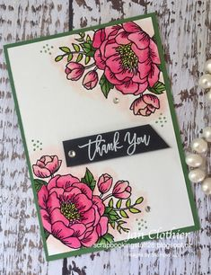 Birthday blooms, Wow, Stampin Up