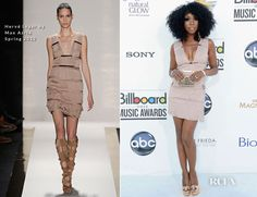 Brandy Norwood In Hervé Léger by Max Azria - 2012 Billboard Music Awards
