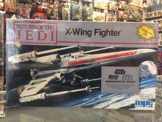 Ertl Star Wars Return Of The Jedi X-Wing Fighter Model Kit