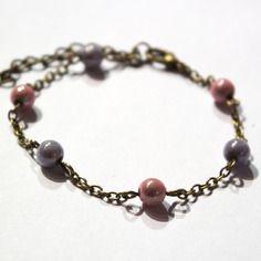 Bracelet romantique perles magiques