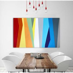 The Future Of Art – Investment Concepts – Buy Abstract Art Right Diy Canvas Art, Acrylic Painting Canvas, Abstract Canvas, Contemporary Abstract Art, Wow Art, Art Moderne, Geometric Art, Geometric Painting, Simple Art