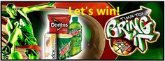 """MTN DEW and Doritos are teaming up to let you know that it's """"Time to Bring It"""" for the madness that is college hoops season in March. Everyone who doesn't win will score a discount …"""