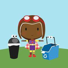 Connaissez-vous Écolo-fille? Ce personnage a comme mission de trier les déchets que son ennemie Malevelle éparpille dans la nature. Une série de 10 épisodes pour apprendre à vos enfants comment trier les déchets! Rendez-vous sur notre chaîne YouTube Mini ABC pour les regarder :) #apprendre #apprendrefrancais #ecolo #ecology #environnement #nature #dechet #poubelle #trier #parents #education #enfants #serietv #youtube #chaineminiabc #miniabc #minitfo @minitfo Mini, Parents, Family Guy, Photo And Video, Videos, Nature, Fictional Characters, Instagram, Art