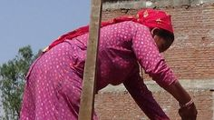 Women are breaking with tradition and helping rebuild Nepal after the earthquake two years ago.