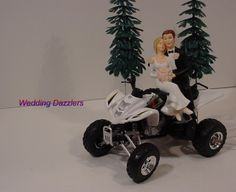 atv wedding cake topper and on 10890