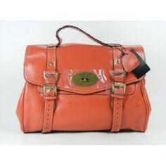 4658865b93 Covetable Mulberry Alexa Bag Leather Orange Mulberry Alexa