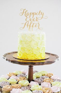 wedding cake idea; photo: Kat Willson Photography