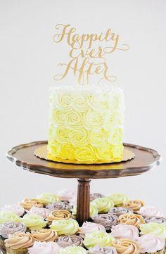 wedding cake idea; photo: Kat Willson Photography