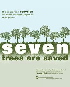Saved trees