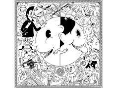 bolek lolek by Whyduck Krystian Ścigalski Duck Illustration, Illustrations, Snoopy, Creative, Fictional Characters, Design, Art, Art Background, Illustration
