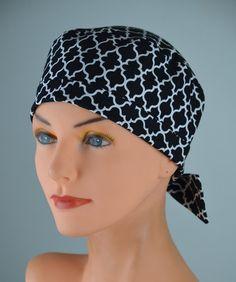 071b7c71b13 Extra Small Scrub Hats For Women - TOP TIE CONVERTIBLE - Lattice