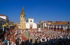 """Tabuleiros"" festivities, Tomar, Portugal"