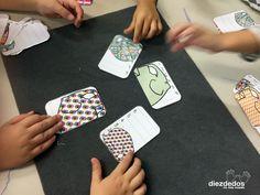 Cuatro actividades matemáticas sobre Elmer, el bromista elefantito de colores. CARTAS IMPRIMIBLES