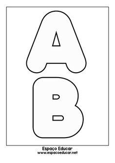 COMO FAZER MOLDES DE LETRAS PASSO A PASSO BEM FÁCIL! - ESPAÇO EDUCAR Alphabet Letter Templates, Printable Letters, Lettering Tutorial, Basic Embroidery Stitches, Photo Craft, Letters And Numbers, Hobbies And Crafts, Couture, Diy Gifts