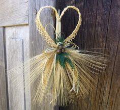 Wheat Weaving Christmas Ornament Decoration by WoodsorrelDixie, $20.00