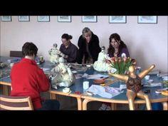 ▶ Nana Workshop Pappmachee Teil 1 mit Sonja Ziemann-Lotzmann (Sozilo) - YouTube
