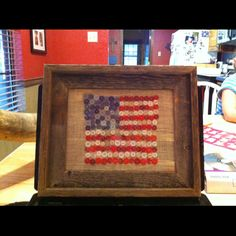 this or perhaps done in a 4H clover. perfect project idea