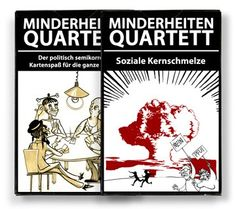 Minderheiten-Quartett SET: Amazon.de: Spielzeug