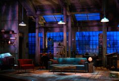 Three Days of Rain. Set Design by Wilson Chin.