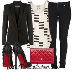 """Spunk"" by adoremycurves on Polyvore"