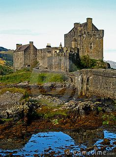 Eilean Donan, A medieval castle in the Scottish Highlands.