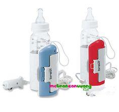 Đồ dùng cho me - Máy hâm sữa: Máy hâm sữa Brevi trên xe hơi BRE313