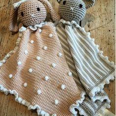 Idea sacada de la web  Muñequitos con manta de apego que puedo hacer para vos. #amigurumi #mantadeapego #babys #bebeinsta #crochetparabebes #crochet #arcoiristiendadecrochet