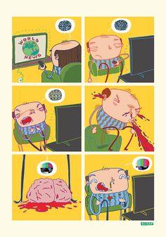 No brain...yes tv! Sputa il cervello ed in tv sarà tutto più bello!