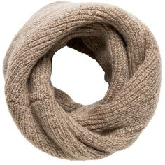 Chunky-Knit Snood (€24) ❤ liked on Polyvore featuring accessories, scarves, embroidered scarves, chunky knit scarves, snood scarves and embroidered shawl