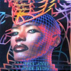 Grace Jones - Inside Story HOLLAND 1986 Lp vg++ w/Inner
