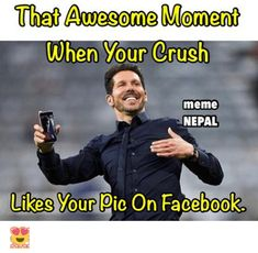 Laughing So Hard Memes About Crush & Wholesome Crush Memes Funny Crush Memes, Crush Humor, Jokes, Hilarious Memes, Work Crush, Crush Crush, Can't Stop Laughing, Laughing So Hard, Crush Stories