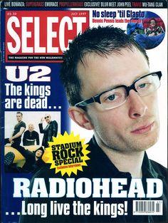 Radiohead - Magazine Covers - 1997 - Select