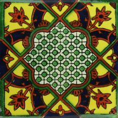 Traditional Mexican Tile - Italian--$1.75 for 4x4