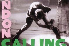 """What is missing from The Clash's """"London Calling"""" Album Cover? A flag, axe, guitar or shovel? Maybe even a shake weight?"""