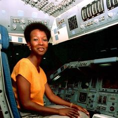 Dr. Jemison, first African American woman in outer space. An inspiration to not only African American girls but girls everywhere.