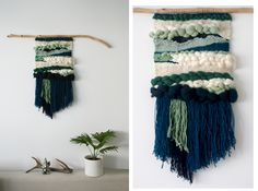 nature - handwoven wall hangings on Behance