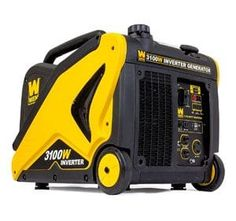Outdoor Generators - WEN CARB Compliant Inverter Generator with Builtin Wheels and Handle * More info could be found at the image url. Best Portable Generator, Portable Inverter Generator, Solar Panel System, Solar Panels, Panel Systems, Generators For Sale, Window Air Conditioner, Fuel Economy, Outdoor Power Equipment