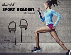 aLLreLi U8 Bluetooth 4.1 Sport Headphones » Review