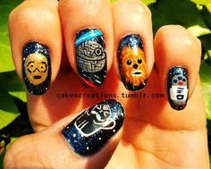 This would make me consider getting my nails done professionally.   @Offbeat Bride Star Wars wedding perhaps?