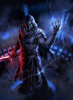 Kylo Ren - Star Wars: The Force Awakens - dleoblack