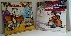 Calvin and Hobbes 2 Book Combo Yukon Ho! and Snow Goons Comics Comedy