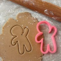 """Cookie cutter """"Gingerbread man hands up and down"""""""