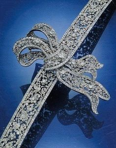 Spectacular diamond belt. Formerly in the collection of the Princes Von Thurn Und Taxis.