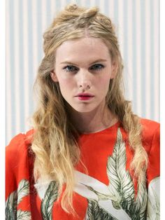 Best Beauty Looks from NYFW Spring 2013: Wes Gordon's uptown girls got down and dirty this season: Bumble and bumble's Laurent Philippon created a rough, dreadlock-inspired style that was a surprising contrast to the collection. We've never seen bedhead look so good!