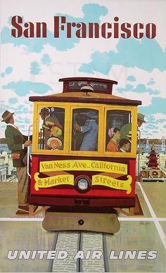 "Stan Galli, ""United Air Lines / San Francisco"", 1960"